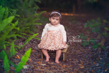 Clermont Winter Garden Baby Photographer