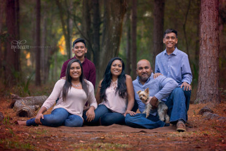 winter garden family photographer